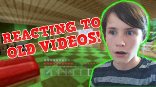 REACTING TO MY OLD VIDEOS!!