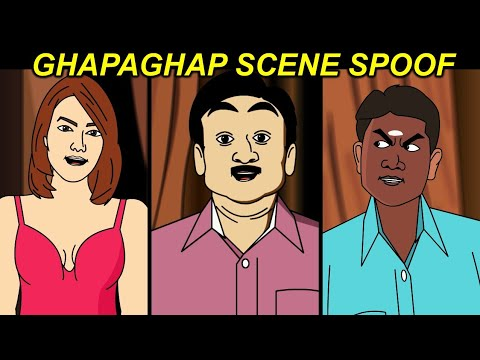 Xxx Mp4 GHAPAGHAP Scene Spoof Ft Jethalal And Babita 3gp Sex