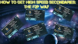 How to get High Speed Secondaries on Mods ??  Star Wars Galaxy of Heroes