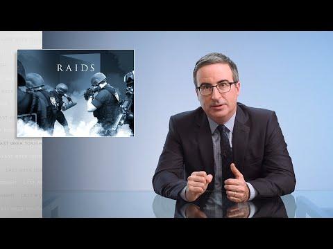 Raids Last Week Tonight with John Oliver HBO