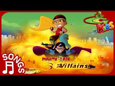 Mighty Raju 3 Villans Movie | Song in English