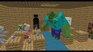 Monster School: Alchemy - Minecraft Animation