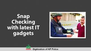 Digitization of KP Police