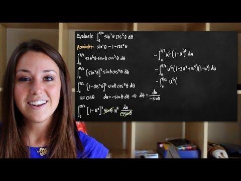 Trigonometric integrals - sin^mcos^n, odd m (KristaKingMath)