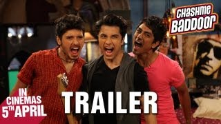 Chashme Baddoor - Official Trailer | Ali Zafar, Divyendu Sharma, Siddharth and Taapsee Pannu