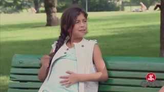 ভিডিওটা দেখুন আর হাসুন  । Pregnant Little Girl Fun Video ।