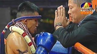 Khem Chan Cambodia Vs Kaoreanthong, Thailand, Khmer Warrior Boxing Bayon TV Boxing 17 August 2018