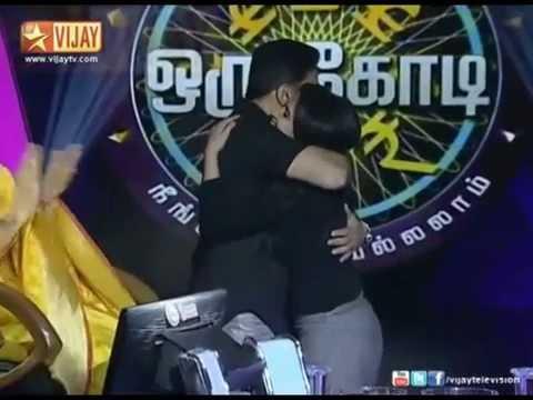 kamal haasan hugs and kisses DD