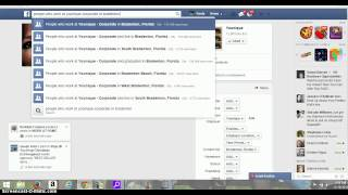 Graph Search on Facebook - See who works online close to you