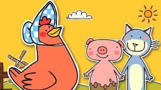 The Little Red Hen | Fairy Tale for Kids
