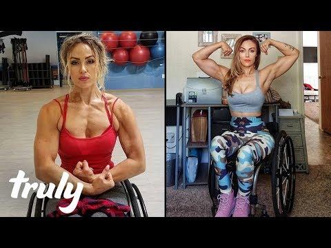 Xxx Mp4 Paralysed Car Crash Survivor Becomes Fitness Model TRULY 3gp Sex