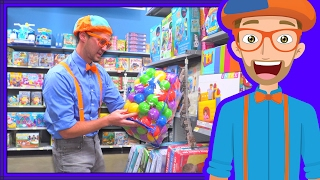 Blippi Toy Store | Educational Videos for Preschoolers