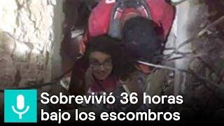 Lucía narra cómo sobrevivió entre los escombros de un edificio  - Al Aire con Paola
