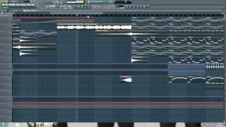 Avicii Vs. Eric Turner - Dancing in my head (Fl studio Remake)