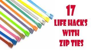 17 Simple Life Hacks With Zip Ties