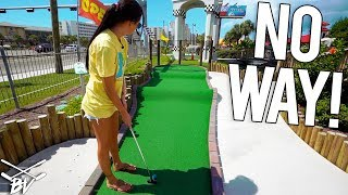 I CAN'T BELIEVE This Happened At This Mini Golf Course!