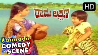 Manjula Super Comedy   Kannada Comedy Scenes   Rama Lakshmana Kannada Movie   M P Shankar, Ashok,