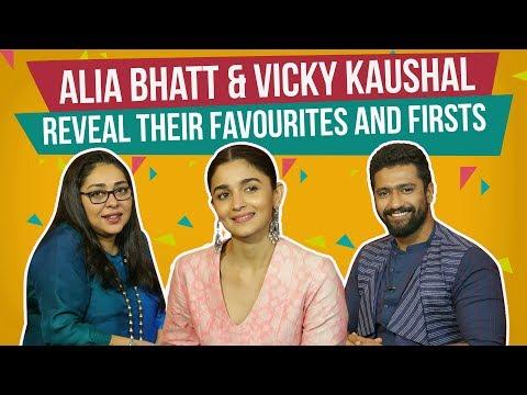 Xxx Mp4 Alia Bhatt Vicky Kaushal Reveal Their Favourites And Firsts Raazi Pinkvilla 3gp Sex