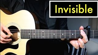 Invisible - 5 Seconds of Summer | Guitar Lesson (Tutorial) Chords