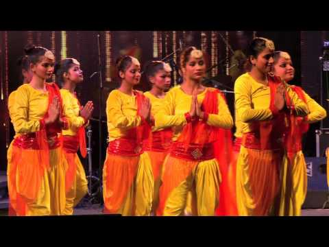 Delhi Govt School Girls Perform For Their Teachers.