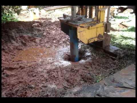 Perforación Pozo perforado agua pura