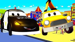 The Contest : Babies in Car City with Baby Police Car and Baby Taxy - Cartoon for kids
