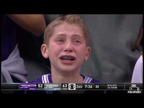 Kid crying for northwestern