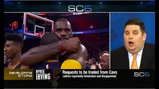 Brian Windhorst Says Kyrie Demanded Trade b/c He Hated Playing w/ LeBron