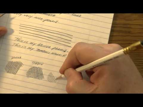 Best Pencil in the World search | Tombow Mono R HB pencil review
