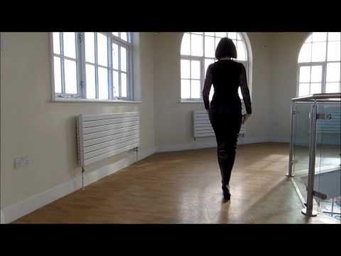 Little Black Hobble Skirt Ankle Length from RoSa Shoes