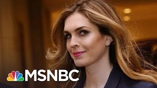 'Javanka' Faction Falling Apart As Hope Hicks, Others Quit W.H. | Rachel Maddow | MSNBC