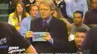 Jerry Springer Show - Grandma and Grandson