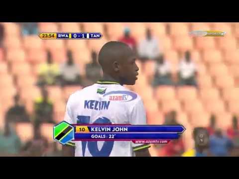 Magoli 'matamu' ya Serengeti Boys ikiichapa Rwanda 4-0;  (CECAFA U17 AFCON QUALIFIER)