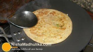 Paneer Paratha Recipe - Punjabi Paneer Paratha - How to make Paneer Paratha