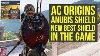 Assassin's Creed Origins Best Shield SHIELD OF ANUBIS (AC Origins Best Shield)