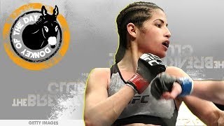 Petty Thief Gets Choked Out After Rolling Up On UFC Star Polyana Viana