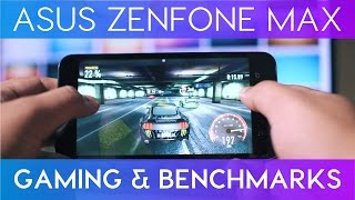 Asus Zenfone Max 2016 Gaming Review & Benchmarks