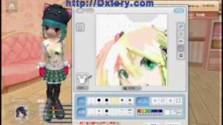 【Pangya】Hatsune Miku was designed by the self design(1/3)