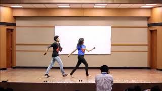 Awesome Dance Performance on kung fu kumari Song ll Cute Couple