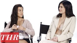 The Kardashian Family on Cringe-Worthy Moments in Their Show & More! | THR Fishing for Answers