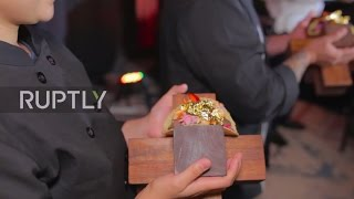 Mexico: This $25,000 GOLD-garnished TACO is the world's most expensive