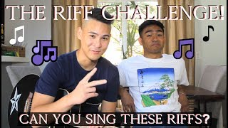 SINGER CHALLENGE: Can YOU Hit These Riffs!?