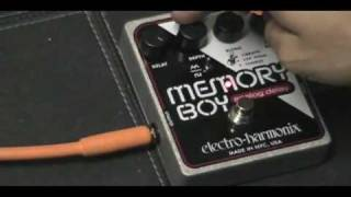 Memory Boy Electro-Harmonix and Expression Pedal