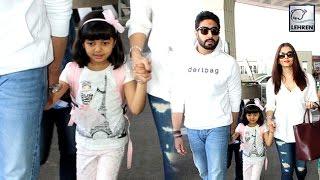Aishwarya Rai & Aaradhya Bachchan Leave To Dubai For New Year | LehrenTV