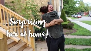 Surprising My Best Friend! (With Actual footage)