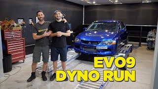 Real Dyno vs Supplied Dyno Sheet - EVO 9