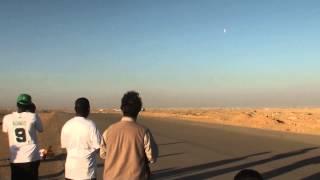 لحظة اقلاع الطائرات مع ابو عبدالله والعنزي