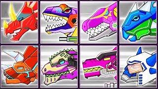 Dinosaur Robot Wars + Dino Robot Corps #2 | Eftsei Gaming