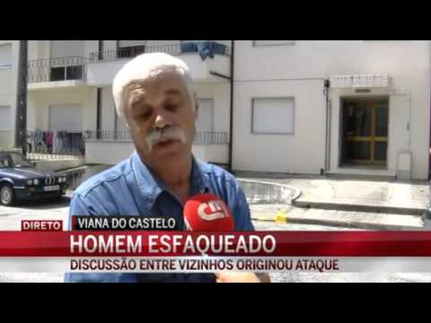 APANHADOS DA TV Discussão entre vizinhos idosos acaba à facada