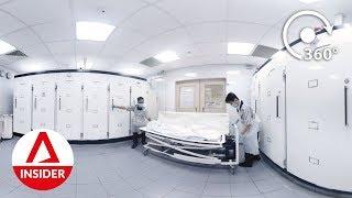 Inside The Hospital Mortuary [360 VR Video]